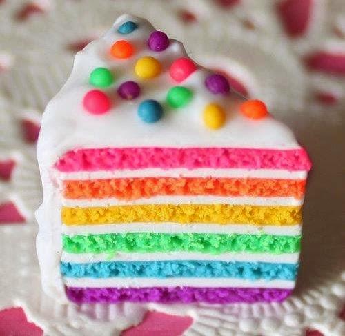 resep masakan ala farah quinn, cara membuat rainbow cake lembut, rainbow cake lembut, resep kue, kumpulan resep farah quinn
