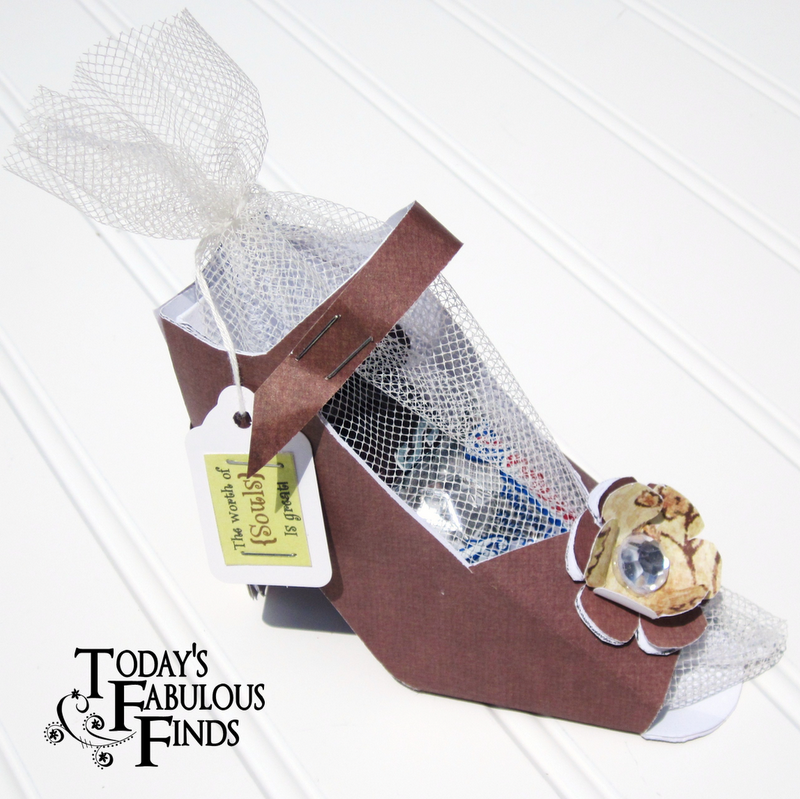 high heel shoe template craft - today 39 s fabulous finds paper shoe favor and template