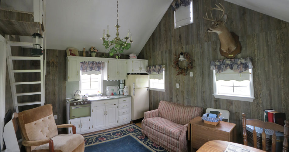 Buy a portable summer cabin or backyard retreat - Turning a shed into a cabin ...