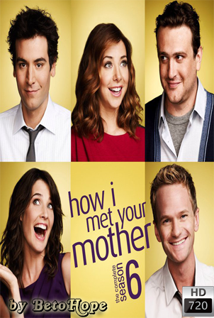 How I Met Your Mother Temporada 6 [720p] [Ingles Subtitulado] [MEGA]
