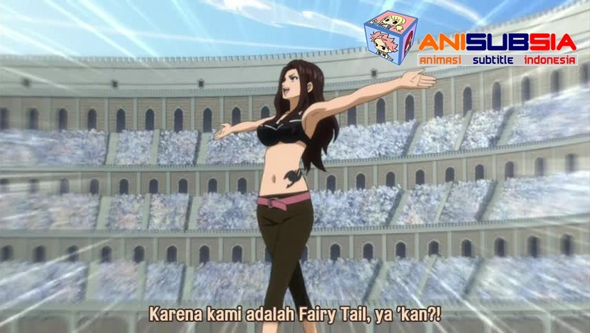 DOwnload Fairy Tail Episode 167 Subtitle Indonesia