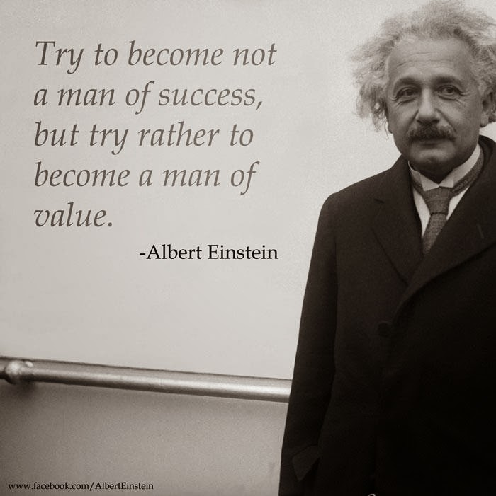 Einstein Quotes Success Man And Valuable Man
