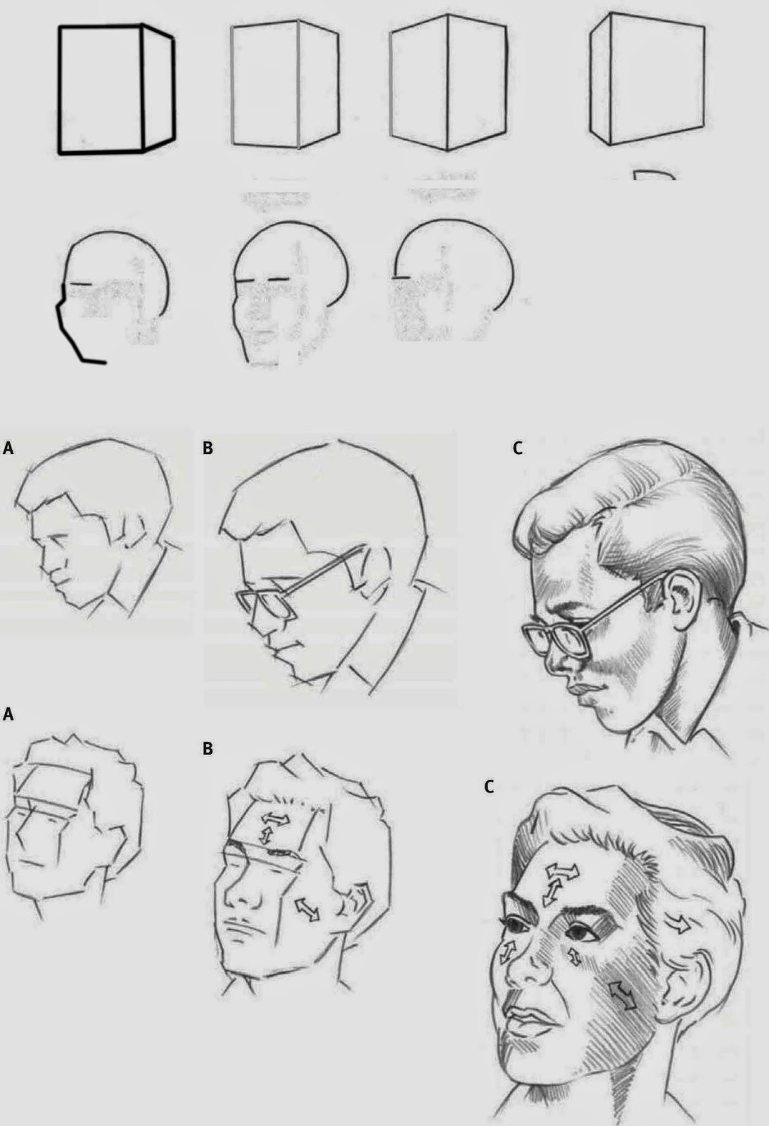 Drawings Head Positions Angles