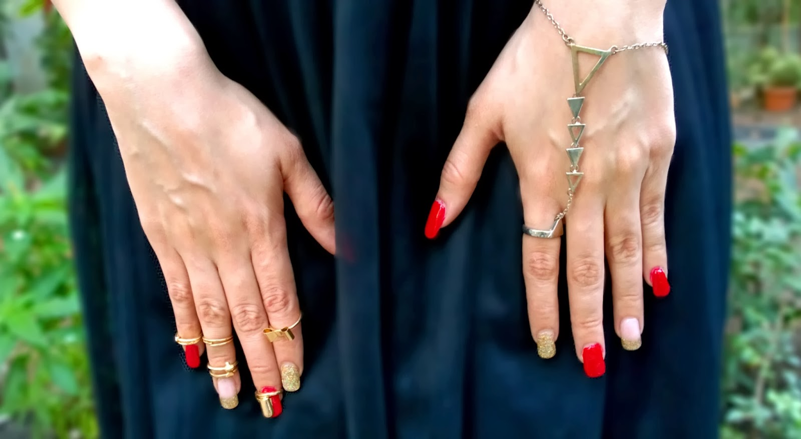 Knuckle Rings & Hand-Ring Chain