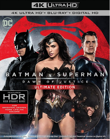Batman v Superman Dawn of Justice ULTIMATE EDITION 4K (Batman vs. Superman: El Origen de la Justicia 4K) (2016) 2160p 4K UltraHD HDR BluRay REMUX 82GB mkv Dual Audio Dolby TrueHD ATMOS 7.1 ch