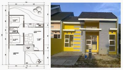 Layout dan Gambar Rumah Minimalis Sederhana