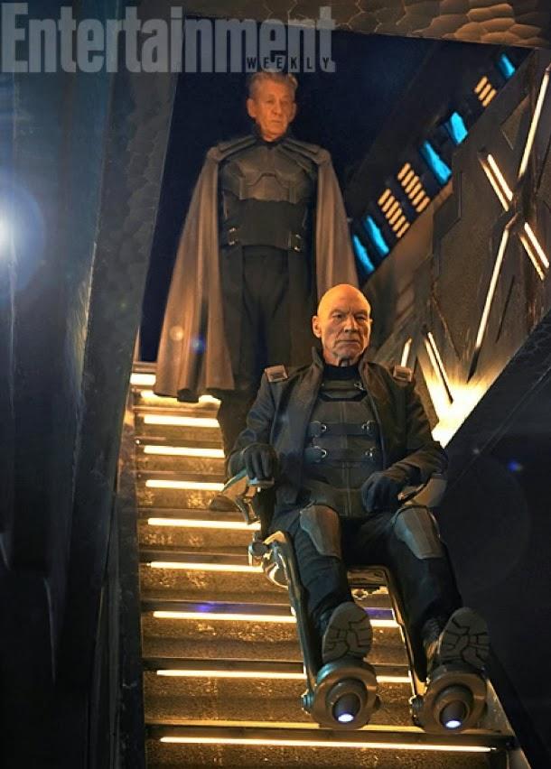 Xavier y Magneto en X-Men: Días del Futuro Pasado