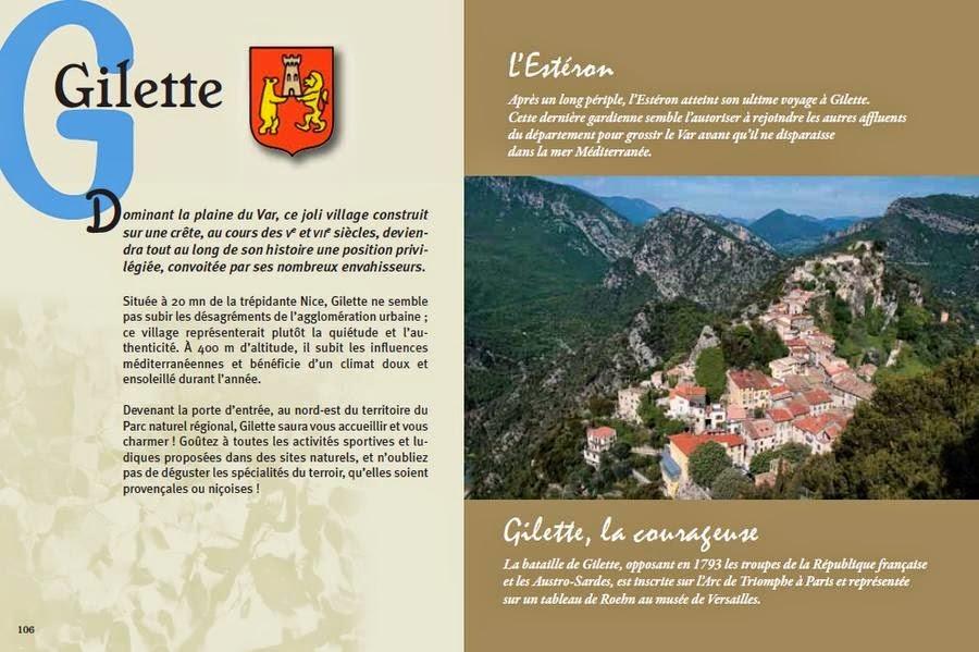 Extrait brochure Gilette