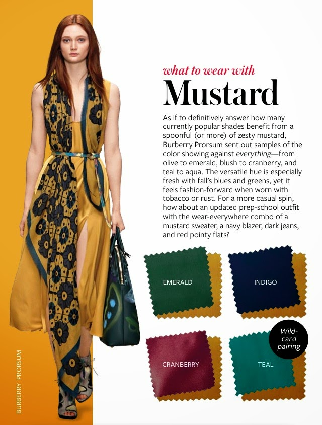 2019 year look- How to mustard wear colored tights