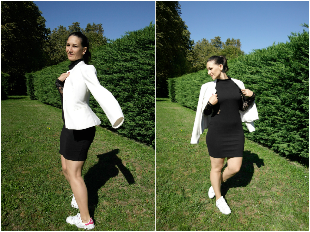 blogueuse mode ronde en robe