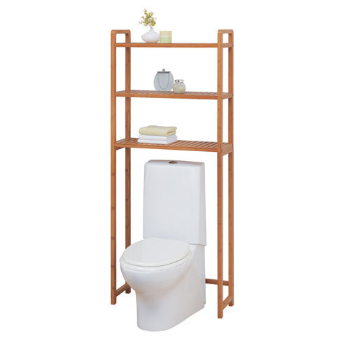Bamboo Over The Toilet Cabinet2