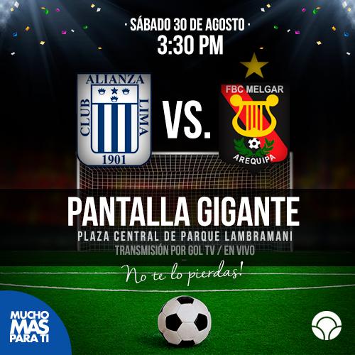 Alianza Lima vs Melgar en vivo