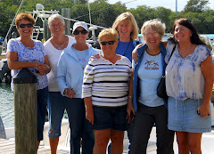 Banana Bay ladies after lunch. Sharon, Nancy, Pegge, Carol, Linda, Trina & Mandy