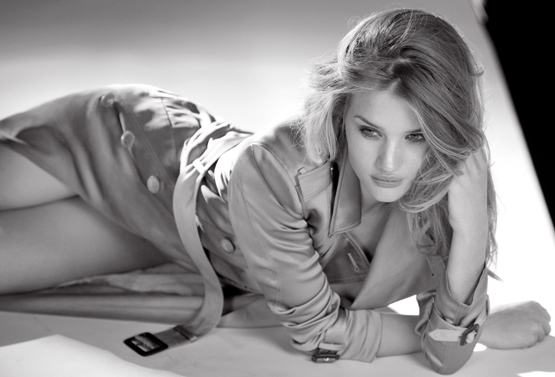 Rosie Huntington Whiteley model Burberry Body
