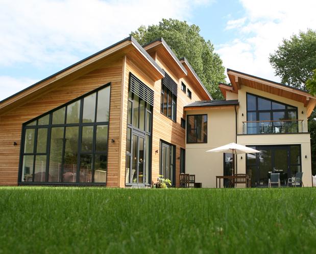 decoracao moderna Como ter uma casa verde