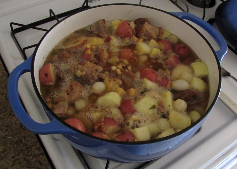 Pork Stew With Hard Cider, Pearl Onions, And Potatoes ...