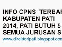 Pengumuman CPNS Pati Terbaru, Pemkab Pati Butuh 5 PNS Semua Jurusan