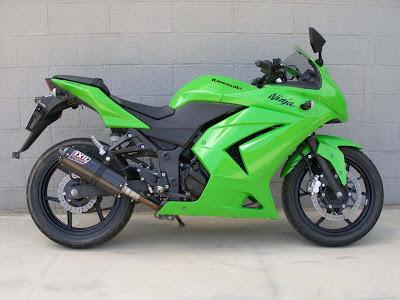 Motor parts: Kawasaki Ninja 250R top speed