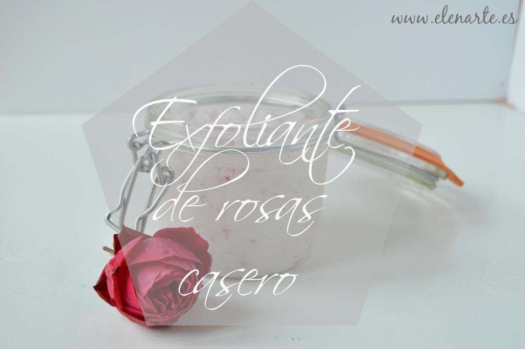 Exfoliante de rosas casero