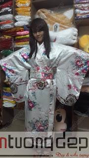 bán trang phục kimono nhật