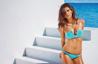 Sara Sampaio hot model for Calzedonia sexy bikini photos