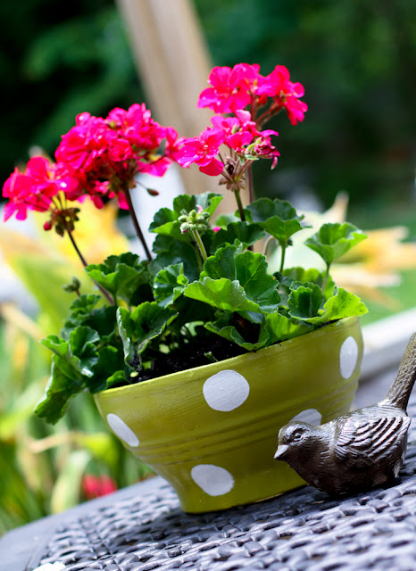 crafts flower pot tutorial
