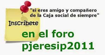 """ÚNETE A NOSOTROS; ..ya somos casi 1000 en """"pjeresip2011"""" y casi 500 en la asociación """"enlaceverde"""