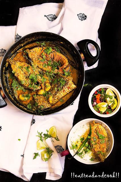 bengali sorshe maach recipe
