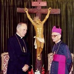 Monsenhor Lefebvre e Monsenhor de Castro Mayer