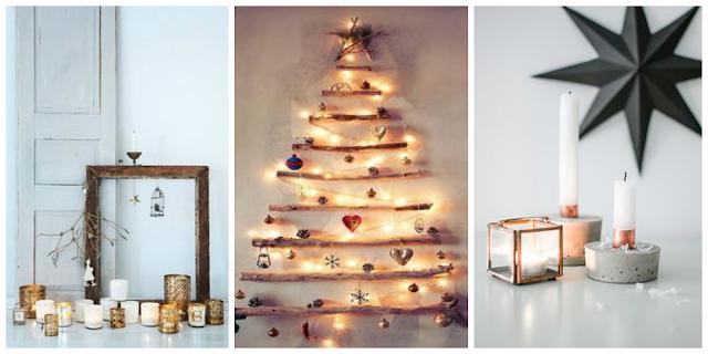 świąteczne dekoracje w skandynawskim stylu