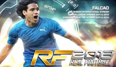 Real Football 2013 para Android - Apk+data