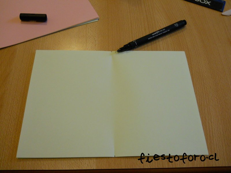 Como encuadernar una libreta sencilla