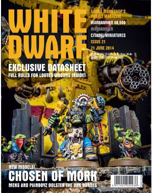 Prepedido de la White Dwarf número 21