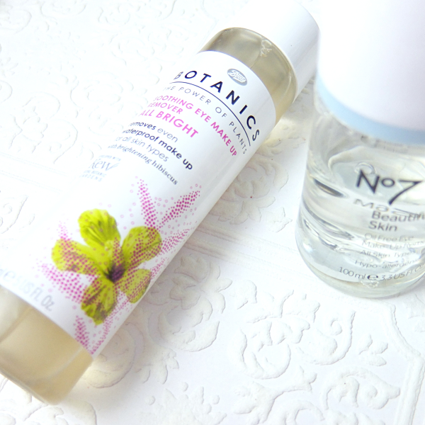 On The Other Hand, Boots Botanics All Bright Soothing Eye Makeup Remover Is  A Clear Winner.