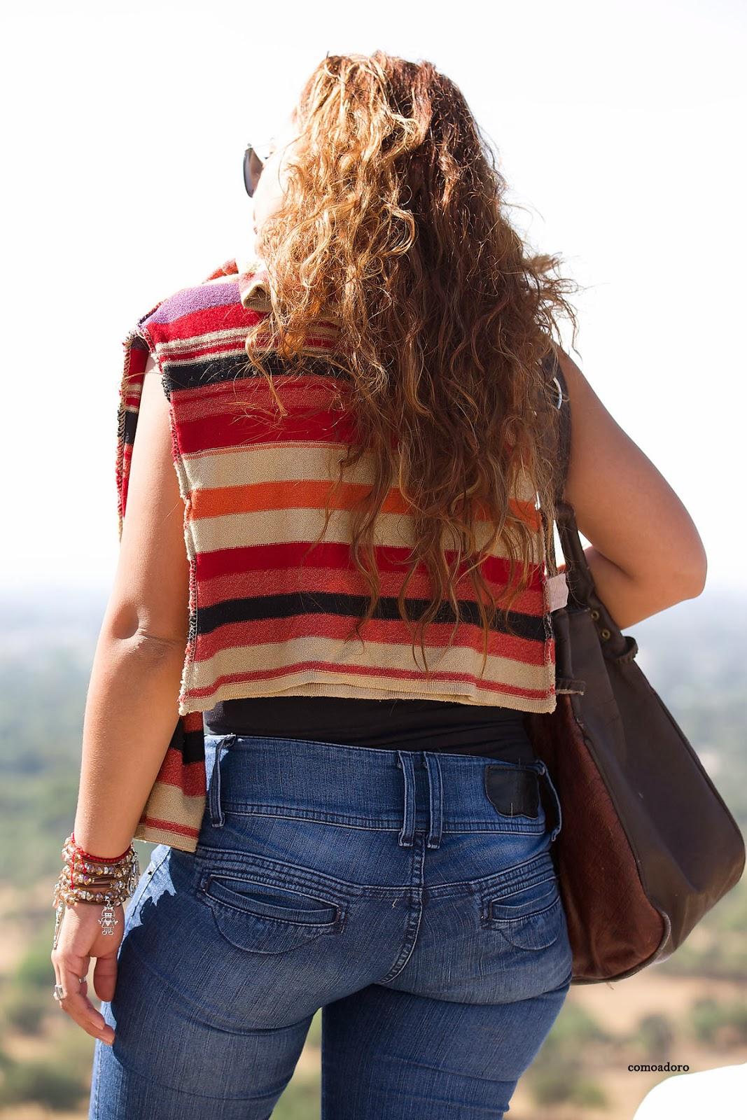 Madura Culona En Pantalon Bien Apretado