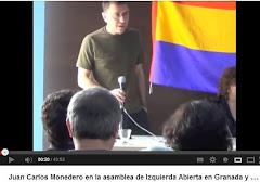 Juan Carlos Monedero en Peligros