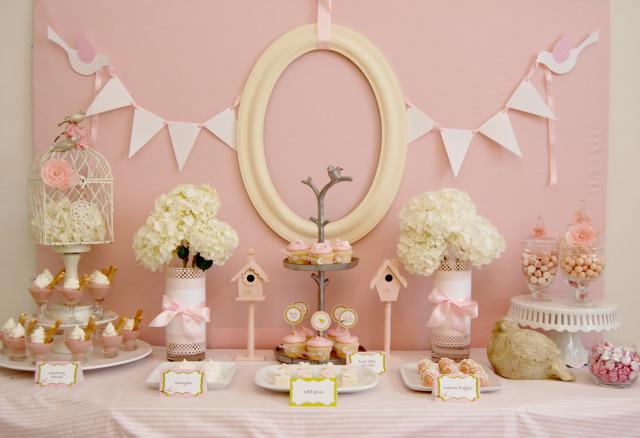Little Pink Birdie Baby Shower!
