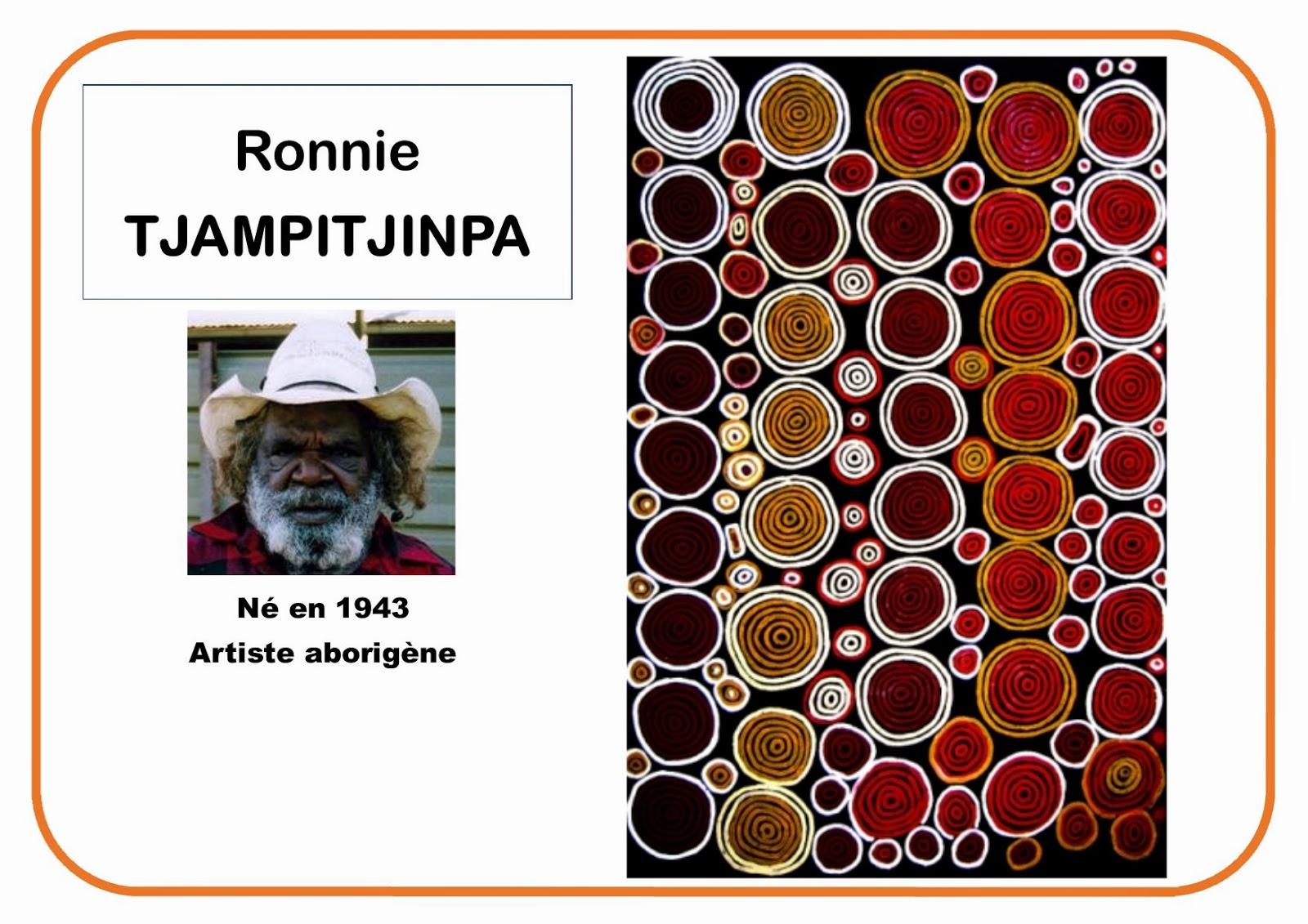 Ronnie Tjampitjinpa - Portrait d'artiste