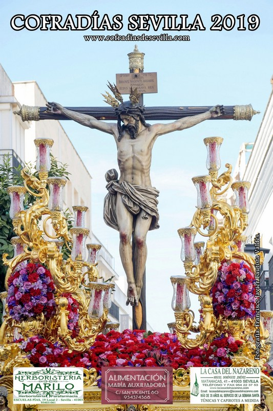Cartel Cofradías Sevilla 2019