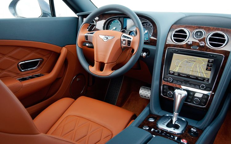 interior bentley continental gt the car club. Black Bedroom Furniture Sets. Home Design Ideas