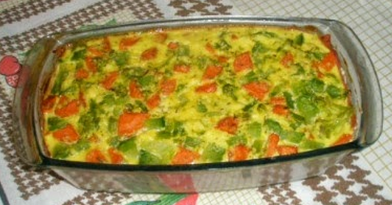 Terrina de legumes assados light