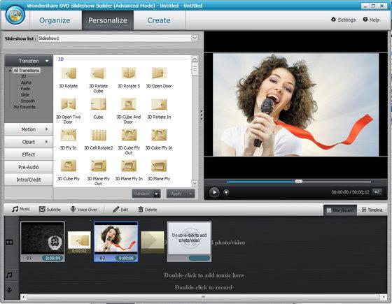 Wondershare DVD Slideshow Builder Deluxe 6.1.9.60 + Serial | souma29 Blog