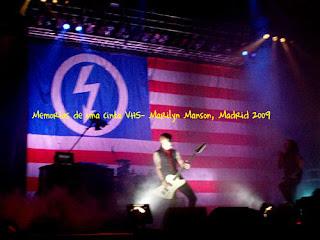 Madrid, Marilyn Manson, 2009, Palacio de los Deportes,