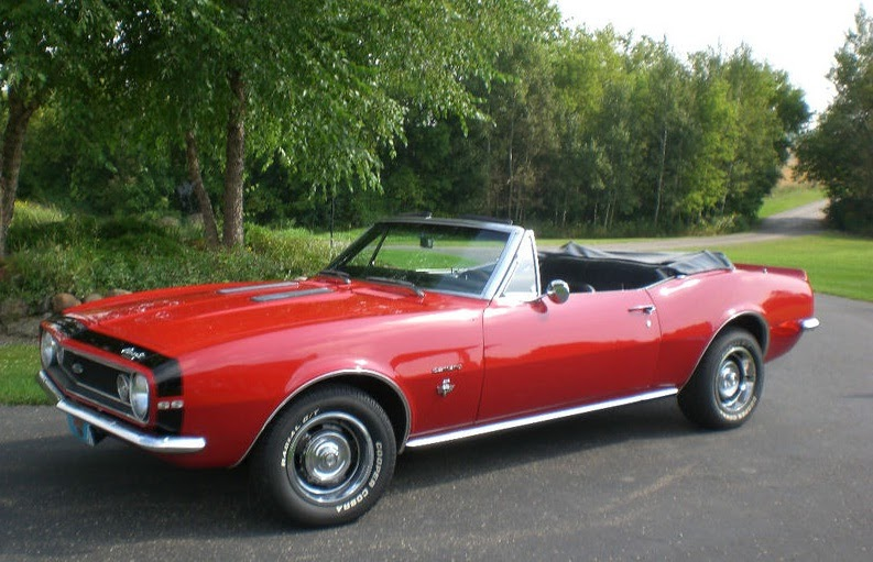 Fans Of Guy Fieri Bid On Ebay Ddd 67 Camaro Convertible