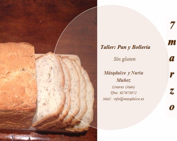 Talleres sin gluten. Marzo 2015