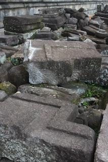 stone blocks mystery precision cuts ancient