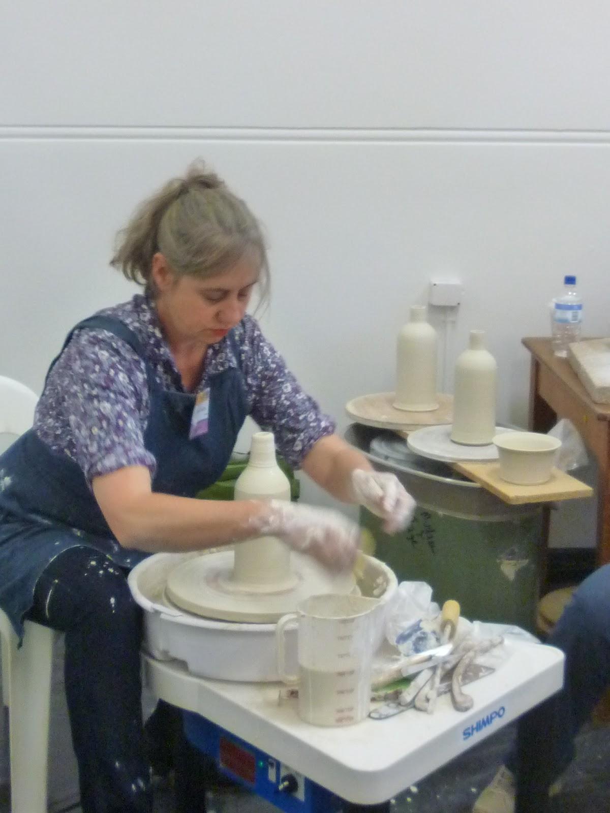 Kate Ward Clay Push At Gulgong 2013