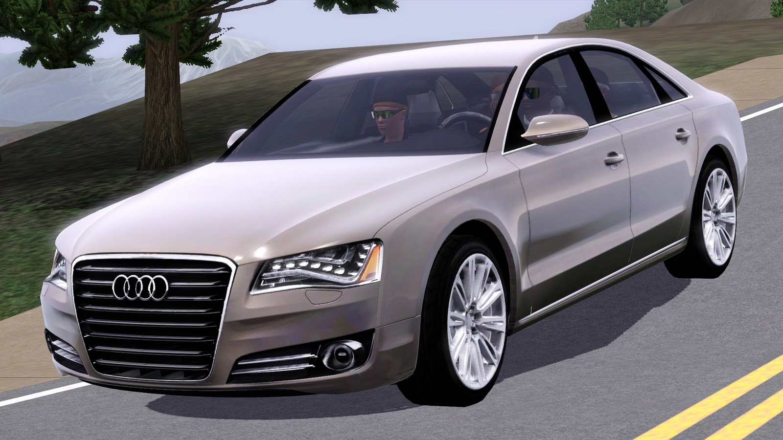 for my sims 2012 audi a8. Black Bedroom Furniture Sets. Home Design Ideas
