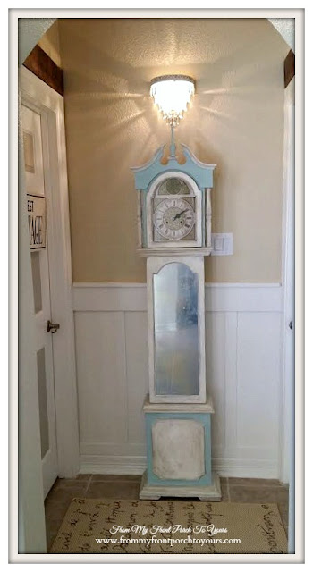 DIY- Board & Batten-Farmhouse Chic-Farmhouse-Guest Hallway-From My Front Porch To Yours