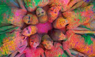 Los colores de la India - India United colors - Niñas y niños